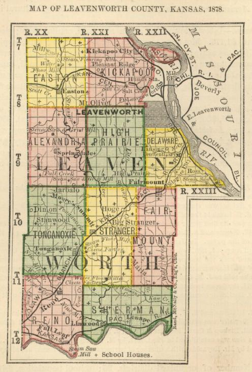 First Biennial Report, 1878, Leavenworth County, Kansas