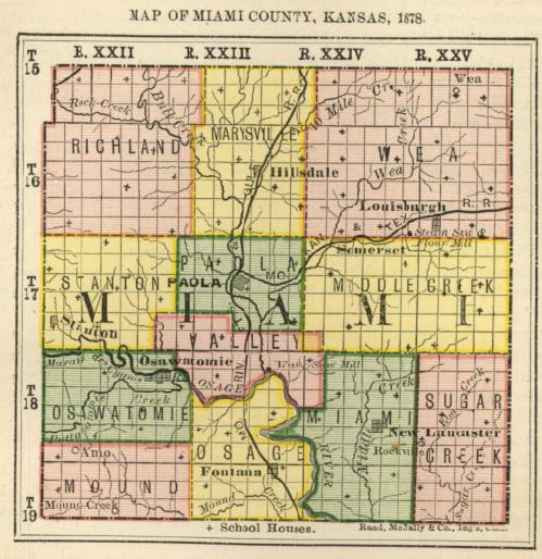 Worksheet. First Biennial Report 1878 Kansas