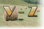 Marion County Surnames V - Z