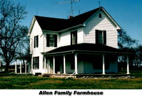Allenfarm Photograph Of The Allen Family Farmhouse